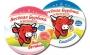 Сыр плавленый  Веселая буренка  65–69%, 140 г сливочный